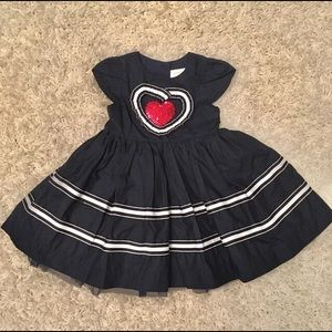 Other - NWOT! Stunning Girl's Princess Style Dress in Navy
